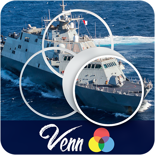 Venn Boats: Overlapping Jigsaw Puzzles