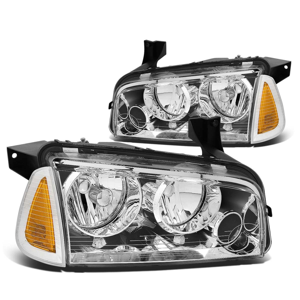 Partslink FO2502200 Multiple Manufacturers FO2502200C OE Replacement Headlight FORD CROWN VICTORIA 1998-2011