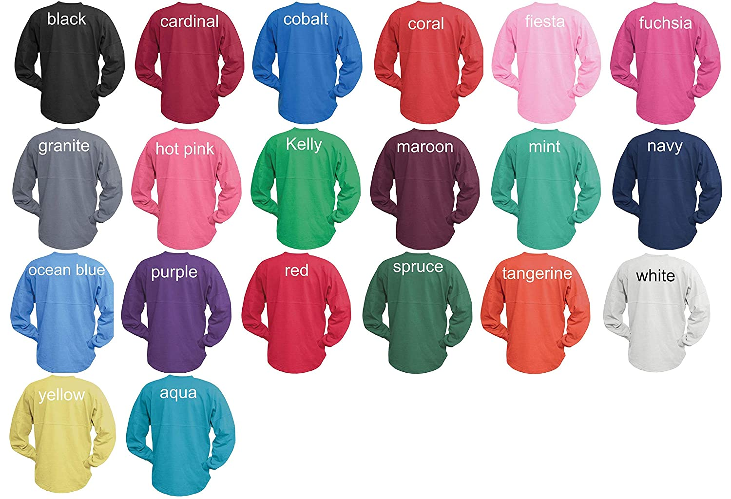 b886b940e Amazon.com: Personalized Long Sleeve Oversized Breast Cancer Survivor  Awareness Billboard Spirit Wear T-Shirt Jersey - Walks, Event: Handmade