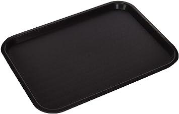 """Bandeja de Comida rápida 12 """"X 16 cm), color marrón"""