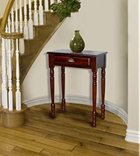 D ART Savana Entrance Hall Table 1 Drawer In Mahogany Wood