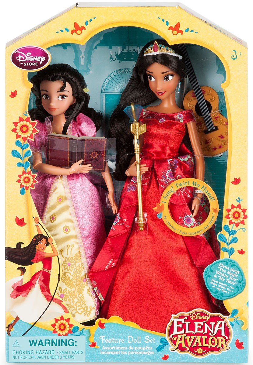 Disney Elena of Avalor Elena & Isabel Singing 11 Doll by Elena of Avalor