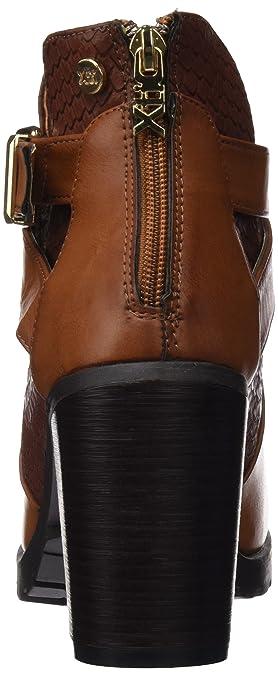 mujer xti botin sra. c. 46213 botas cortas con tacón