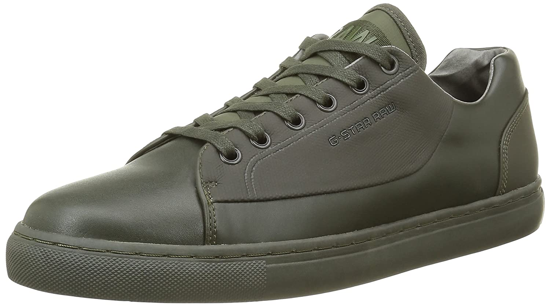 G-STAR RAW Zlov Cargo, Sneakers Basses Homme, Vert (Combat 723), 45 EU