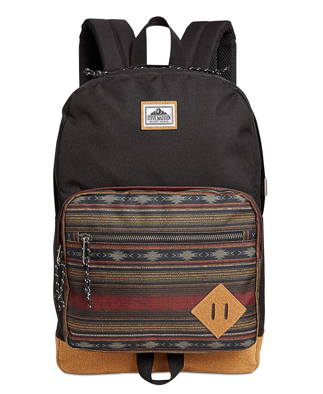 STEVE MADDEN Mens Badland Dome Classic Backpack