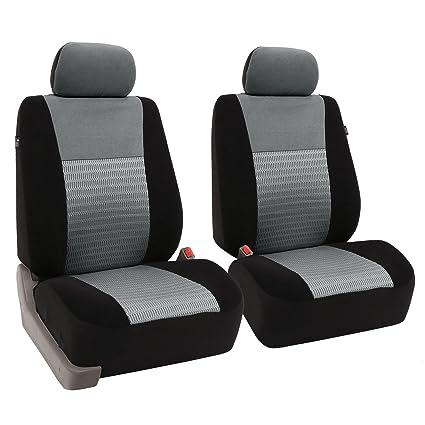 Frontal Negro Par De Lujo Confortable Premium coche cubiertas de asiento