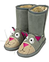 Cat Toasty Toez Kids Boots