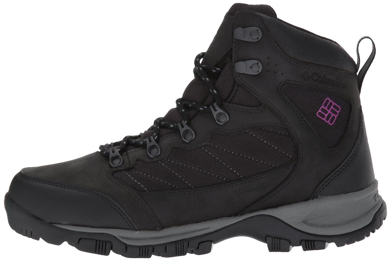 Columbia Women's Cascade Pass Waterproof Hiking Boot B01MZ1V33Q 9.5 B(M) US|Black, Intense Violet