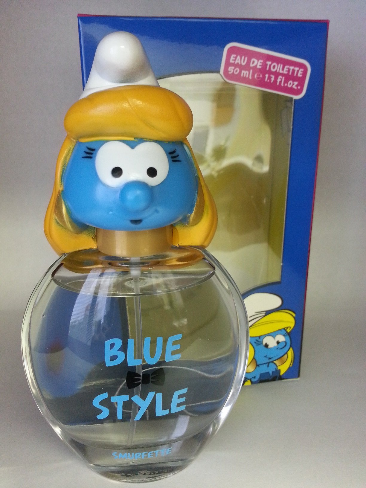 First American Brands Kids Smurfs 3D Smurfette Perfume, 1.7 Ounce