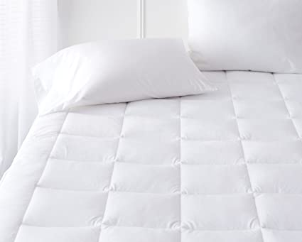 sweet home design mattress pads. Pinzon Hypoallergenic Overfilled Microplush Mattress Topper  Queen Amazon com
