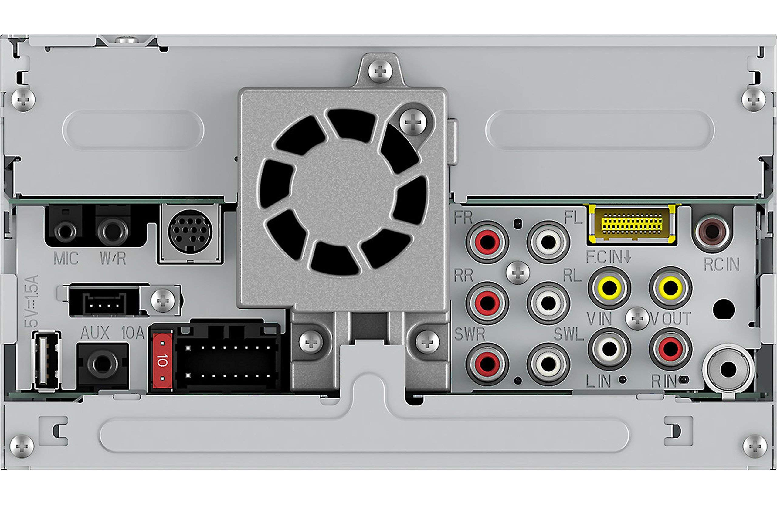 Pioneer AVH-1330NEX 6.2in DVD Receiver with Apple CarPlay, Bluetooth and HD Radio (Renewed) by PIONEER (Image #4)