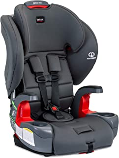 product image for Britax Grow with You Harness-2-Booster Car Seat | 2 Layer Impact Protection - 25 to 120 Pounds, Pebble [New Version of Pioneer]
