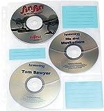 Pochettes à CD / DVD pour classeur - 60 CD