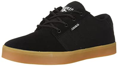 Osiris Men's Mesa Skate Shoe, Black/White/Gum, ...