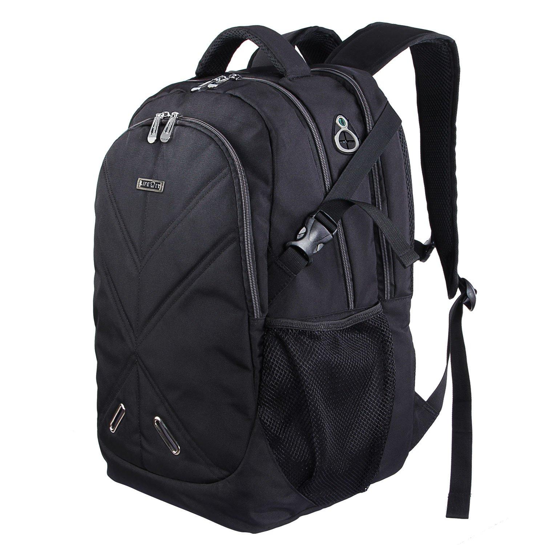 Lifewit Mochila Portá til 17, 3' Laptop Bolso de Viajes Multifuncional a Prueba de choques con la Cubierta de la Lluvia de Gran Capacidad Mochila Bolsos para MacBook Pro Ordenador (15, 6' Gris) 6 Gris)