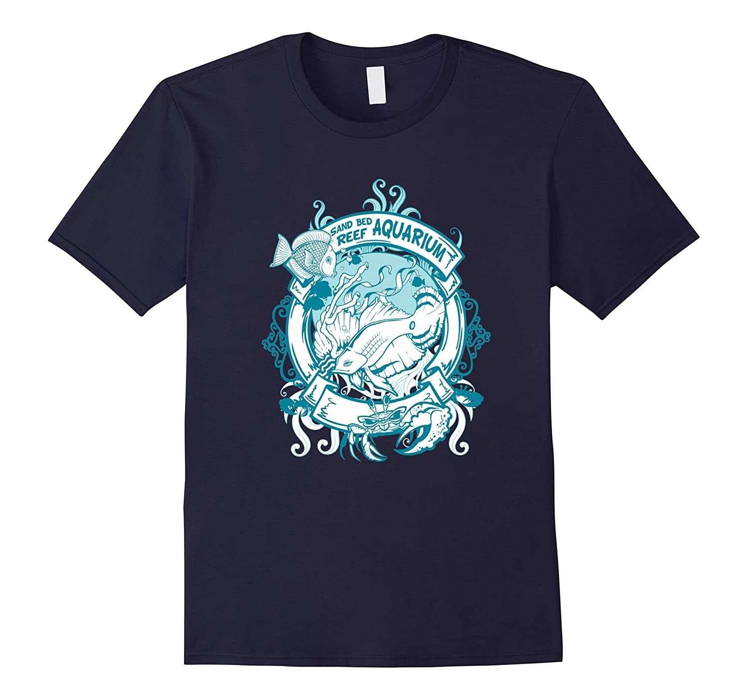 Sand Bed Aquarium Reef T Shirt For Women Graphic Tee For Men-Art