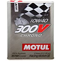 Motul 104243 Motorolie 300 V Chrono 10W-40, 2 L
