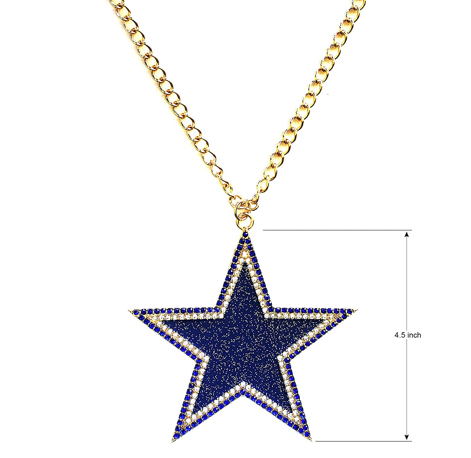 MT-Sports Football Diamonds Plus Necklace Pendant Jewelry Fashion Gifts for Men Women 14K Gold Plated