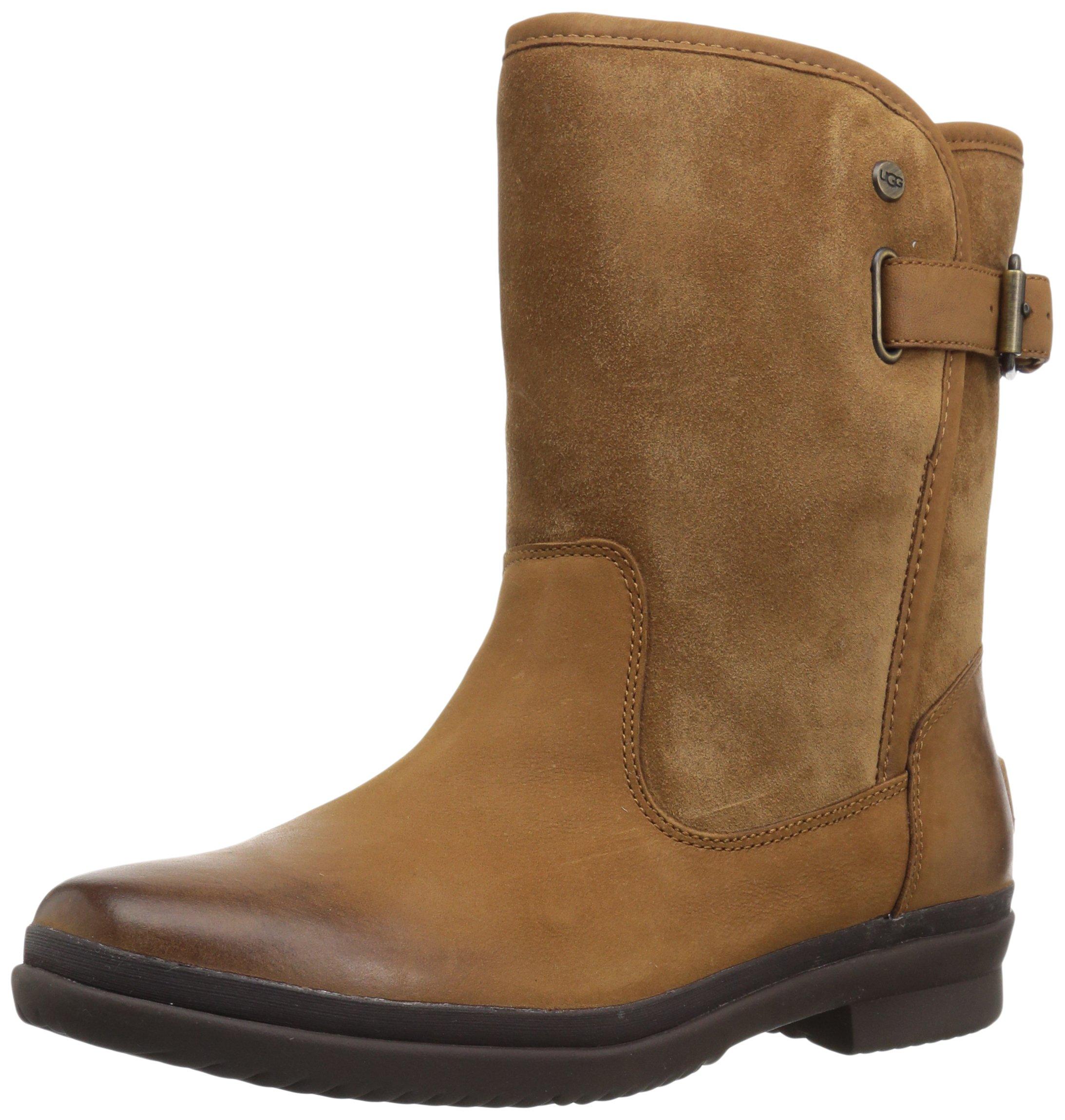 UGG Women's Oren Fashion Boot, Chestnut, 7 M US