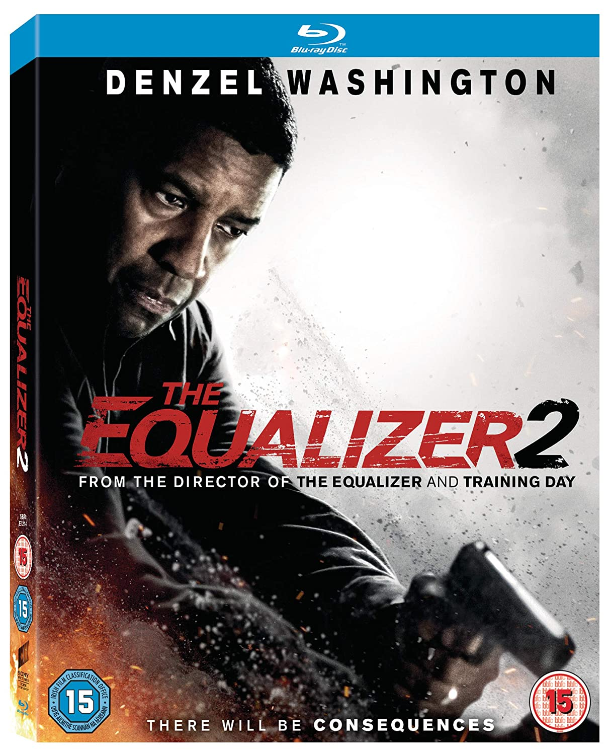 amazon com the equalizer 2 [blu ray] [2018] denzel The Equalizer 2014 Poster