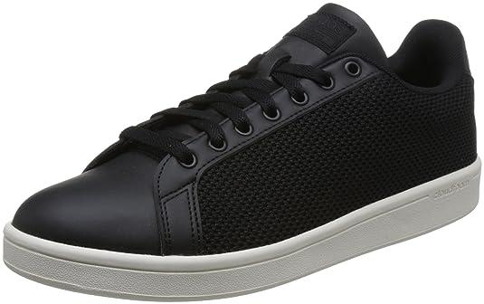 Adidas Cloudfoam Advantage Clean, Zapatillas para Hombre, Negro (Core Black/Core Black/Chalk White 0), 43 1/3 EU
