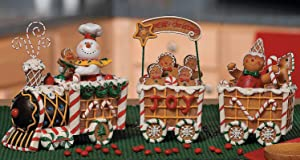 The Gingerbread Express Train - Holiday Decor