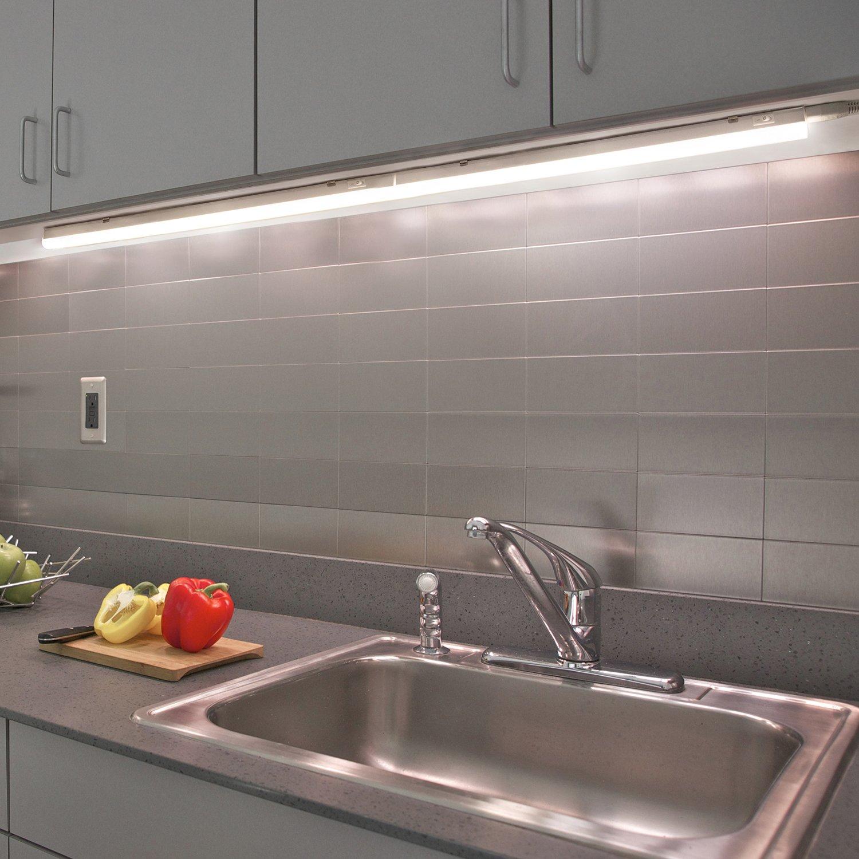 Anschließbare 9W LED Küche Unterschrank Lichtleisten Unterbauleuchte ...