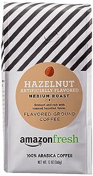 AmazonFresh Hazelnut Flavored Arabica Coffee Beans