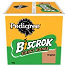 Pedigree Biscrok Grave Bones - Biscuits Dog Treats, 1 Box (1 x 10 kg)