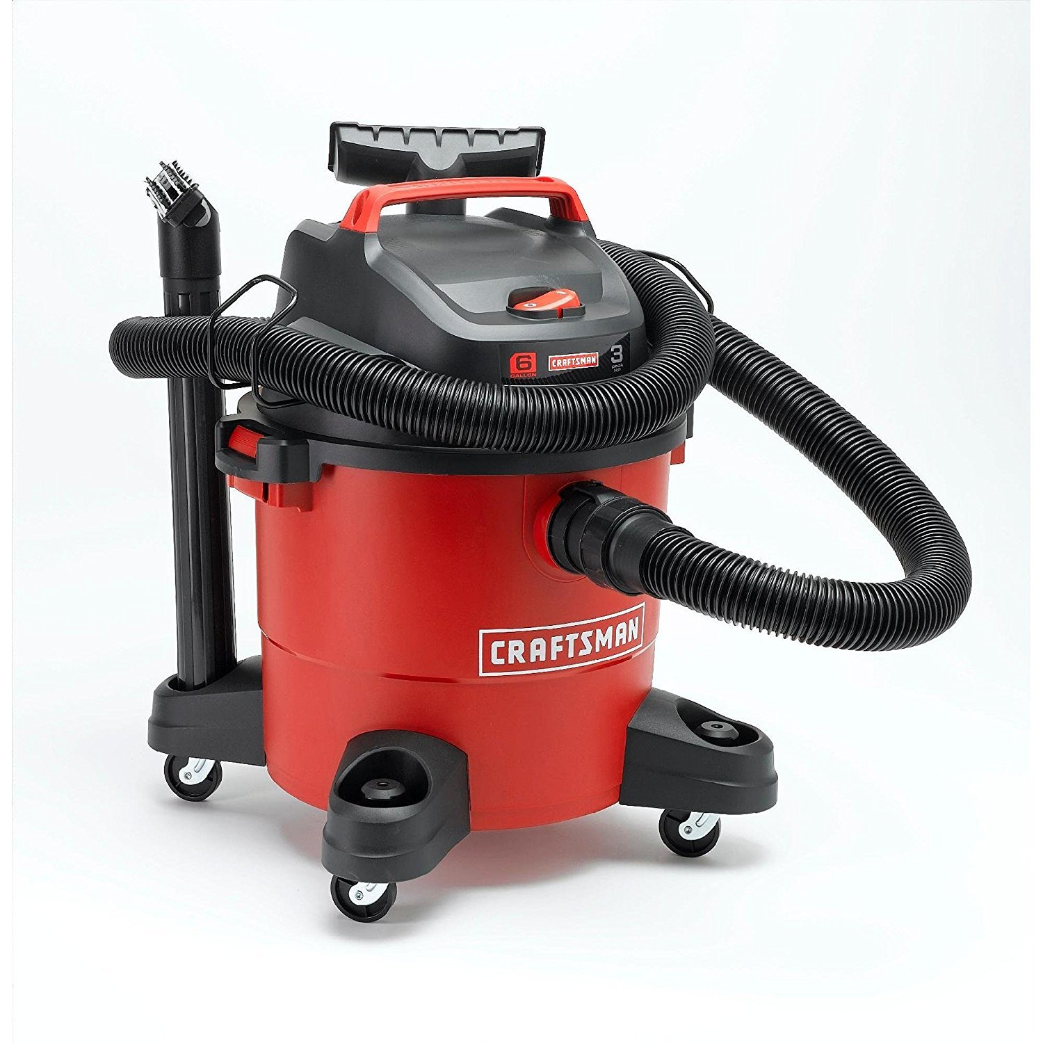 Craftsman 12004 6 Gallon 3 Peak HP Wet Dry Vac 2 PACK