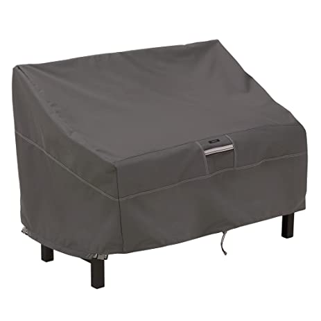 Classic Accessories Ravenna Patio Bench Cover   Premium Outdoor Furniture  Cover With Durable And Water Resistant