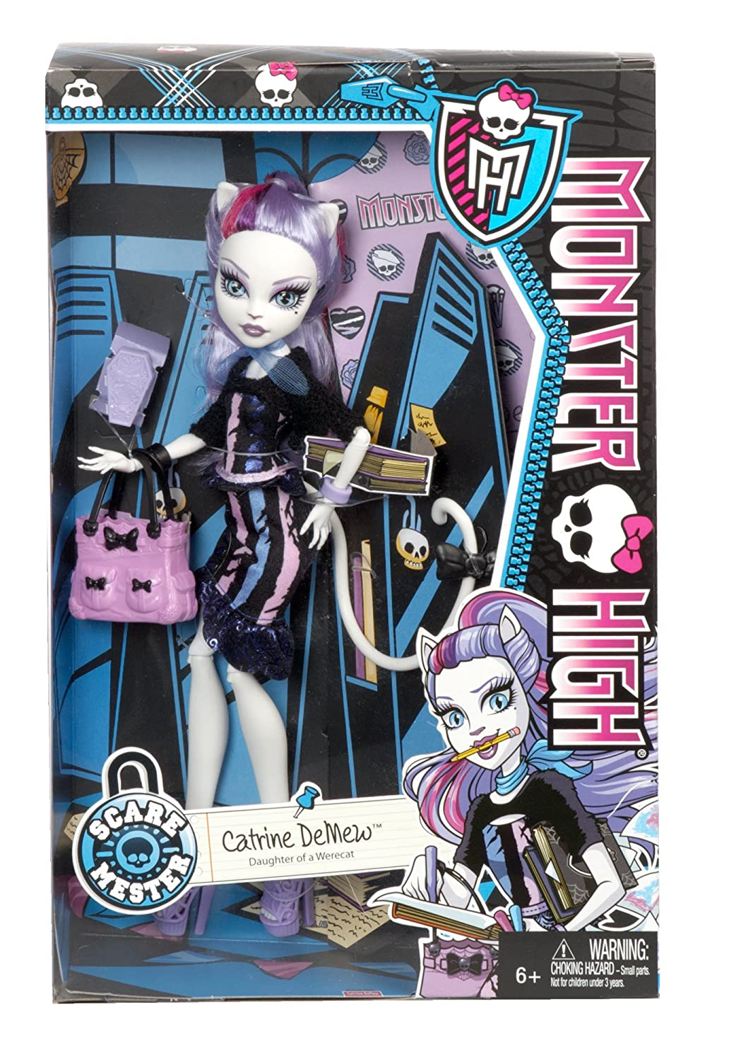 Catrine demew popular catrine demew doll buy cheap catrine demew doll - Buy Monster High New Scaremester Catrine Demew Fashion Doll Online At Low Prices In India Amazon In