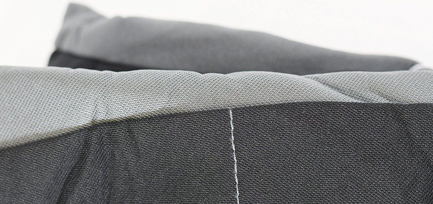 UKB4C Black//Grey Front Pair of Car Seat Covers for Rav 4 All Models