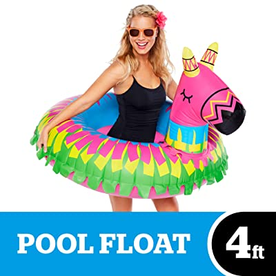 BigMouth Inc. Donkey Party Pinata Pool Float – Hilarious Pool Float Measuring Over 4ft Wide, Patch Kit Included – Funny Inflatable Vinyl Summer Pool or Beach Toy, Makes a Great Gift: Toys & Games