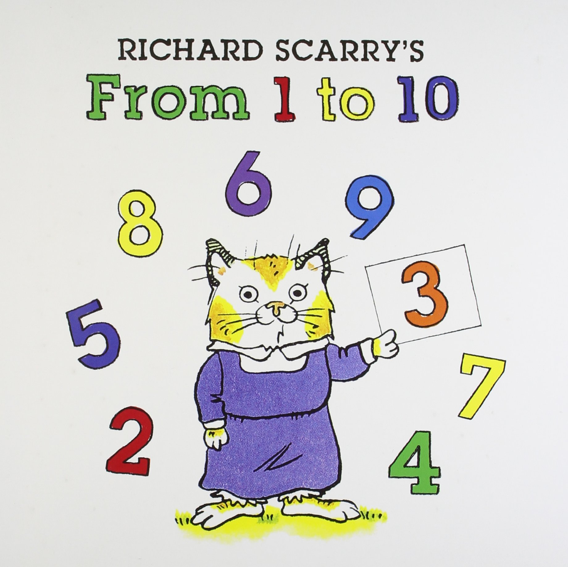 Richard Scarry's From 1 to 10 PDF