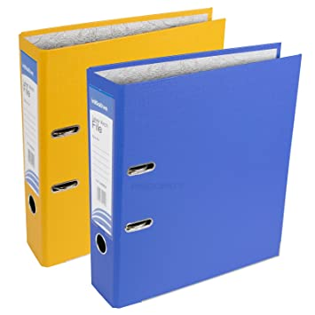 2 X Starke A4 Polypropylen Ordner Grosse Buro Papier Aufbewahrung