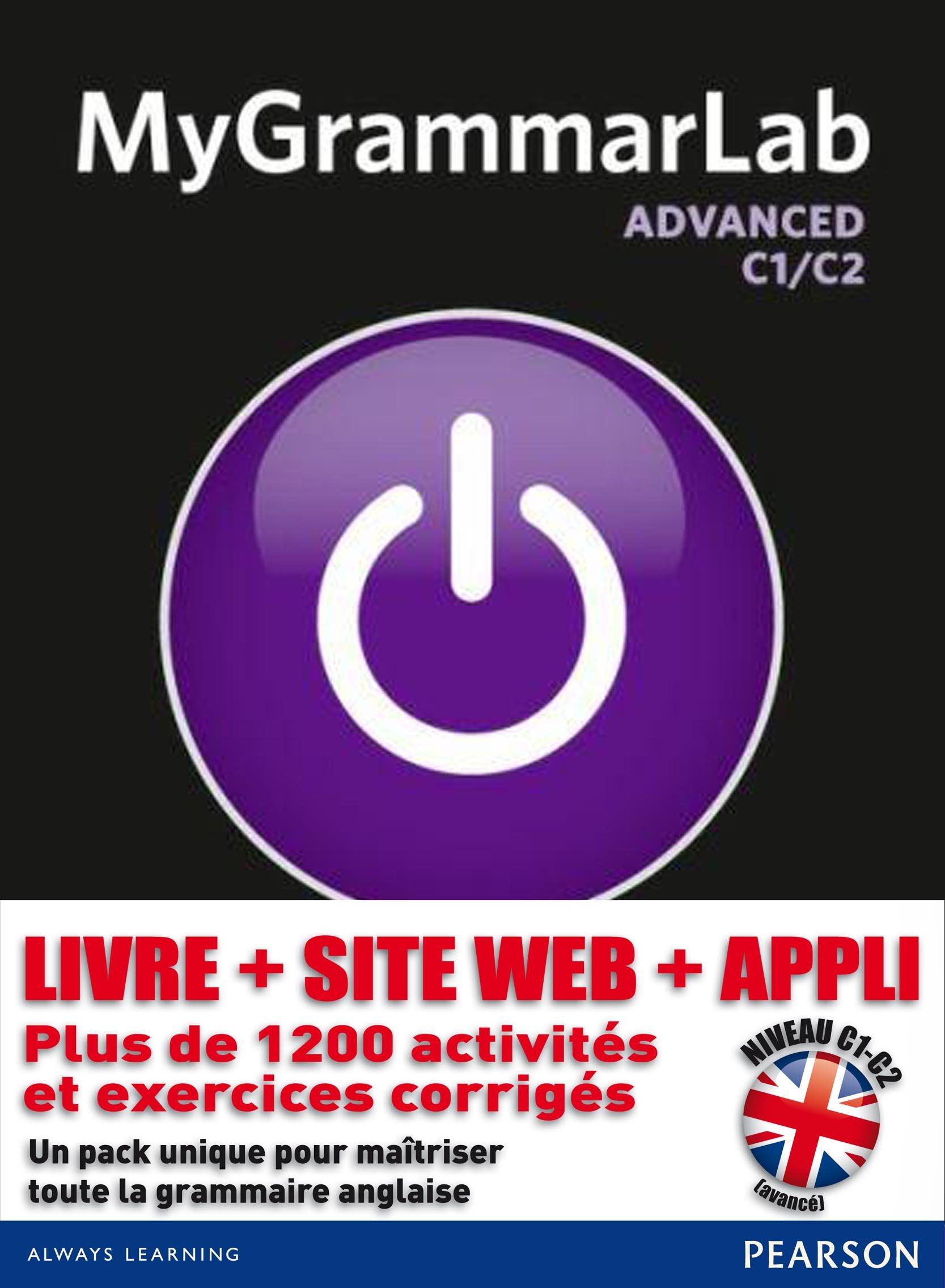 MyGrammarLab Advanced with Key and MyLab Pack (Longman Learners Grammar)