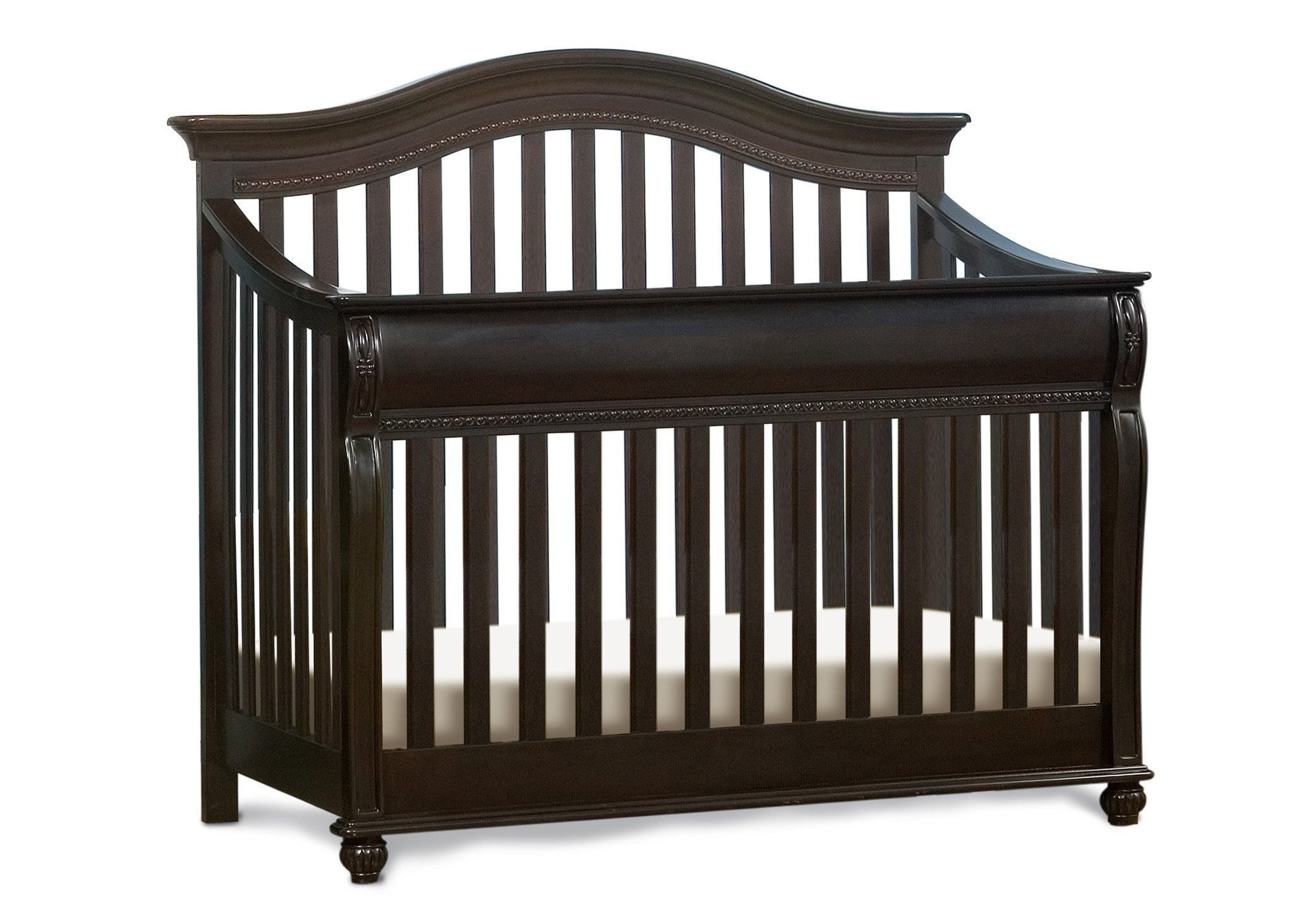 Full Size Conversion Kit Bed Rails for Simmons/Delta Childrens Vancouver Crib-N-More Crib - Labrosse Cherry by CC KITS (Image #3)