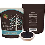 The Cocoa Trader Dutch Processed Black Cocoa Powder - All Natural Alkalized Unsweetened Cocoa with Smooth Mellow Flavor - Use