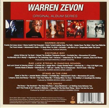 Warren Zevon Original Album Series 5 Cd Amazon Com Music