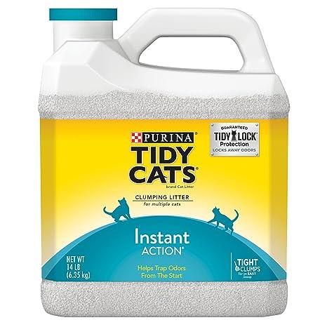 Purina Tidy gatos instantánea acción agrupamiento Cat Litter
