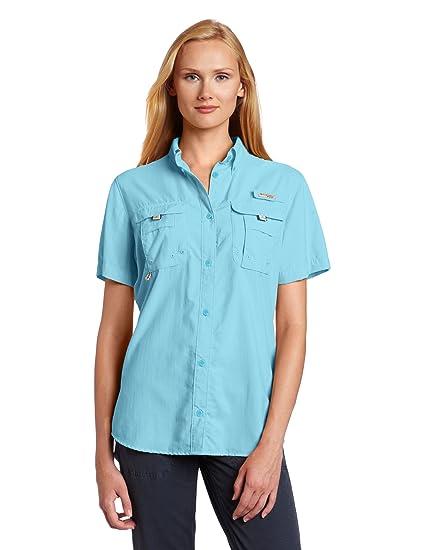 72038d06ad5 Amazon.com: Columbia Women's PFG Bahama Short Sleeve Shirt: Clothing