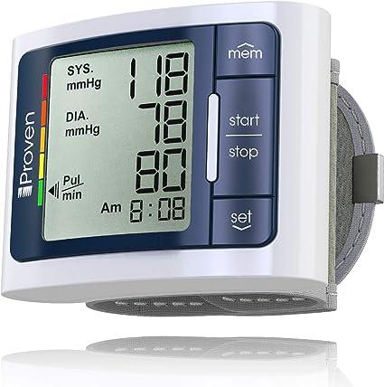 Lectura de la presión arterial más alta de lo normal