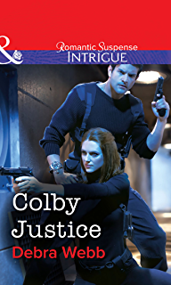 Colby Justice Mills Boon Intrigue Agency Book