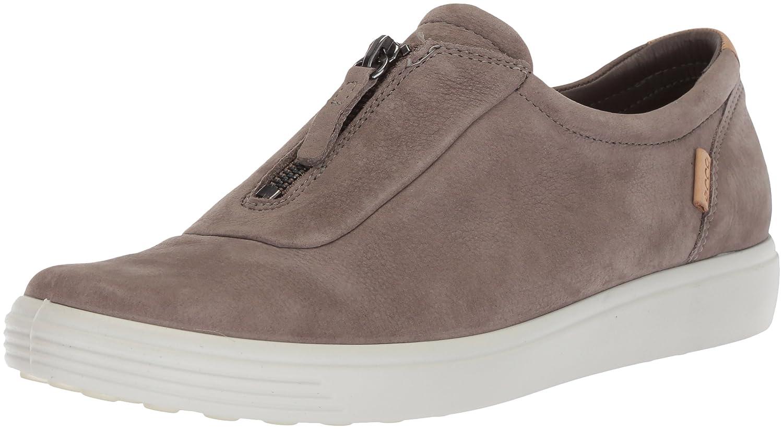 ECCO Women's Soft 7 Zip Fashion Sneaker B074CV2R9R 43 Medium EU (12-12.5 US)|Warm Grey