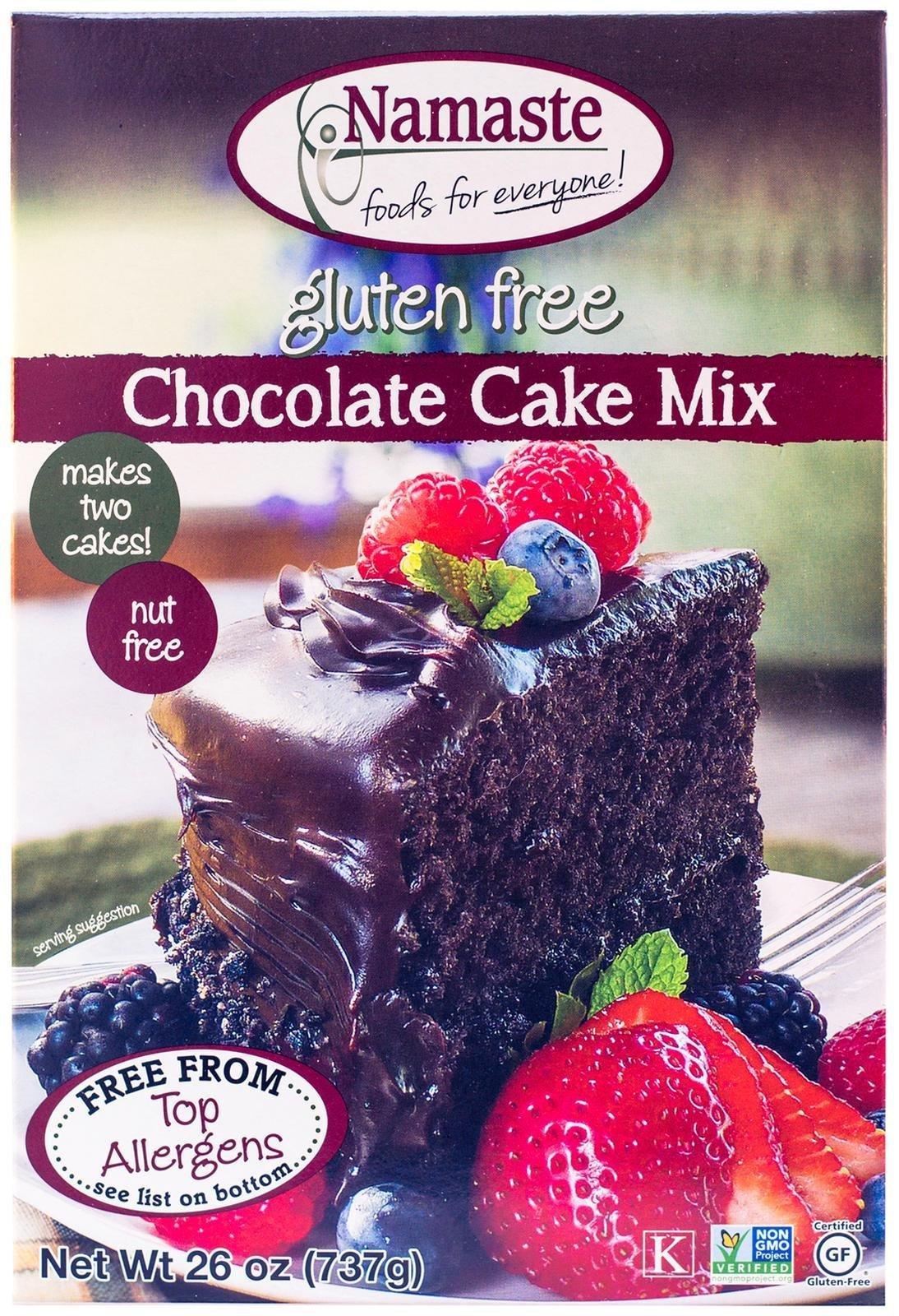 Namaste Foods Chocolate Cake Mix - 26 oz