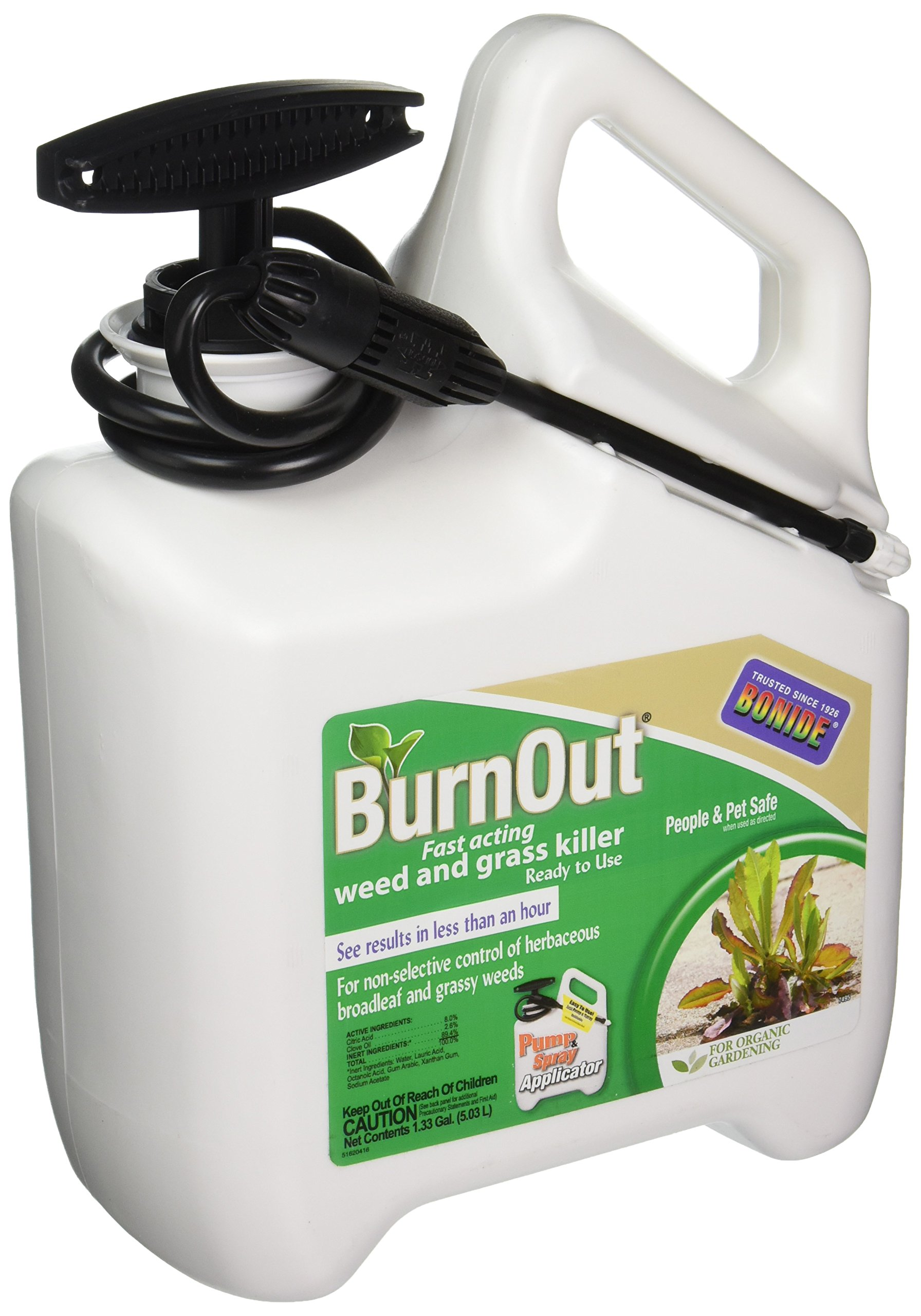 Bonide PRODUCTS 7495 Ready-to-Use BurnOut, 1.33 gallon
