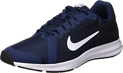 Nike Downshifter 8, Zapatillas de Running para Niños, Azul (Midnight Navy/White-Dark Obsidian-Black 400), 37.5 EU: Amazon.es: Zapatos y complementos