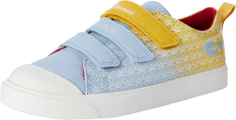 Sneakers Basses Mixte Enfant Clarks City Shell K