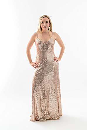 38fbc767cae00 Amazon.com  Bsparklefashion Women s Sexy Deep V Neck Sequin Glitter ...